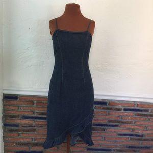 Vintage Blue Jean Dress